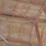 旧宅からの棟木を再利用