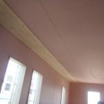 内部天井羽目板貼り