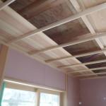 和室天井(杉無垢板)