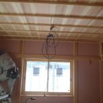 天井は羽重ね張りです